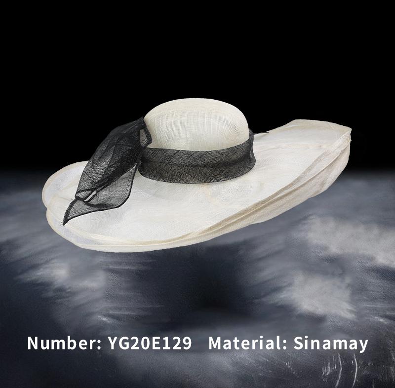 麻纱礼帽(YG20E129)