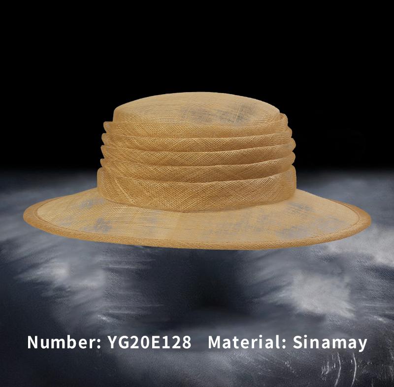 麻纱礼帽(YG20E128)