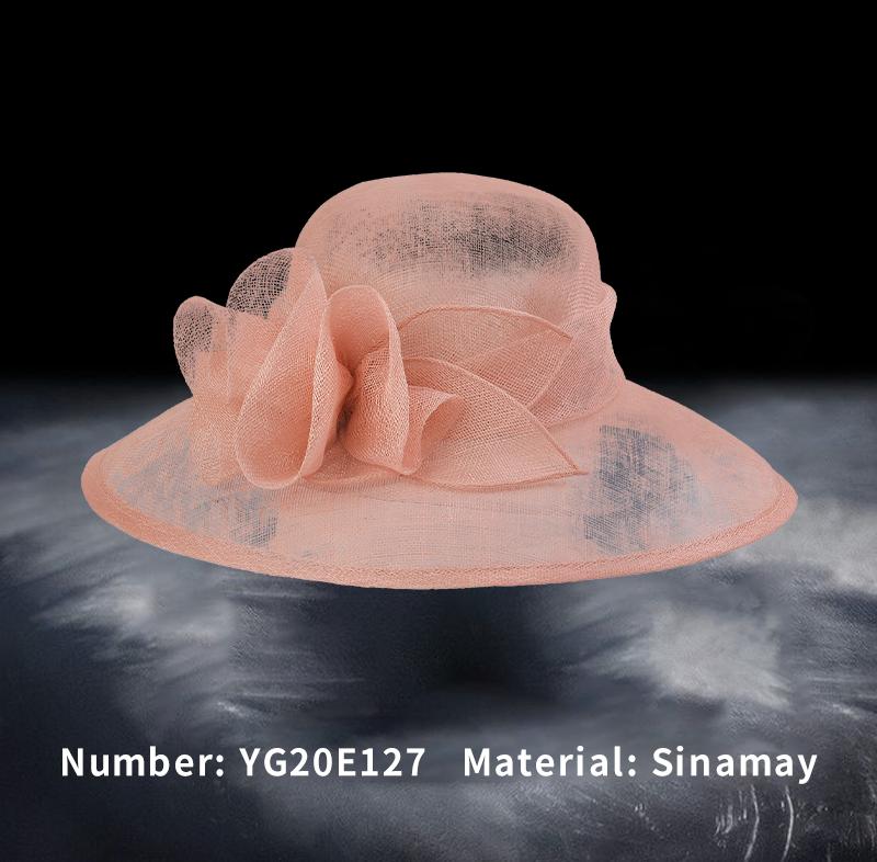 麻纱礼帽(YG20E127)