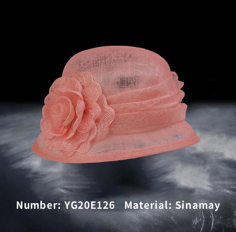 麻纱礼帽(YG20E126)
