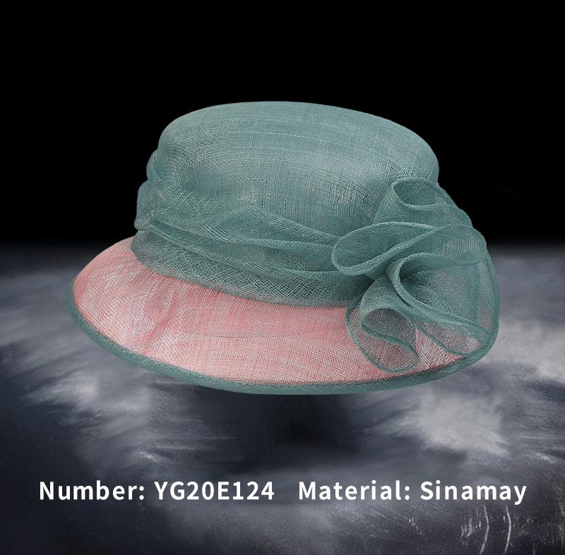 麻纱礼帽(YG20E124)