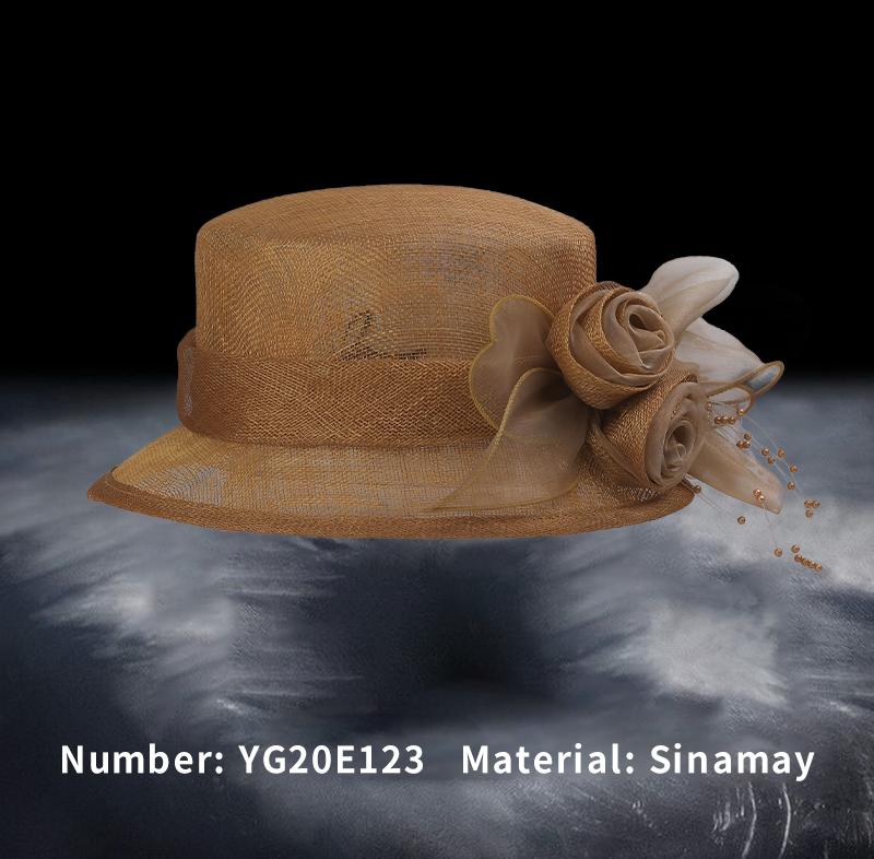 麻纱礼帽(YG20E123)