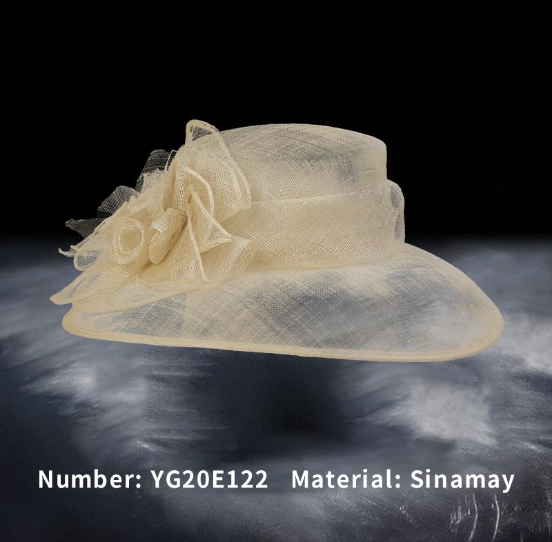 麻纱礼帽(YG20E122)