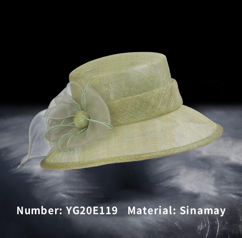 麻纱礼帽(YG20E119)