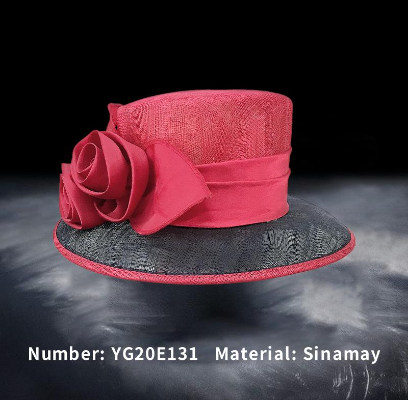 麻纱礼帽(YG20E131)