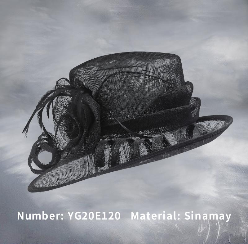 麻纱礼帽(YG20E120)