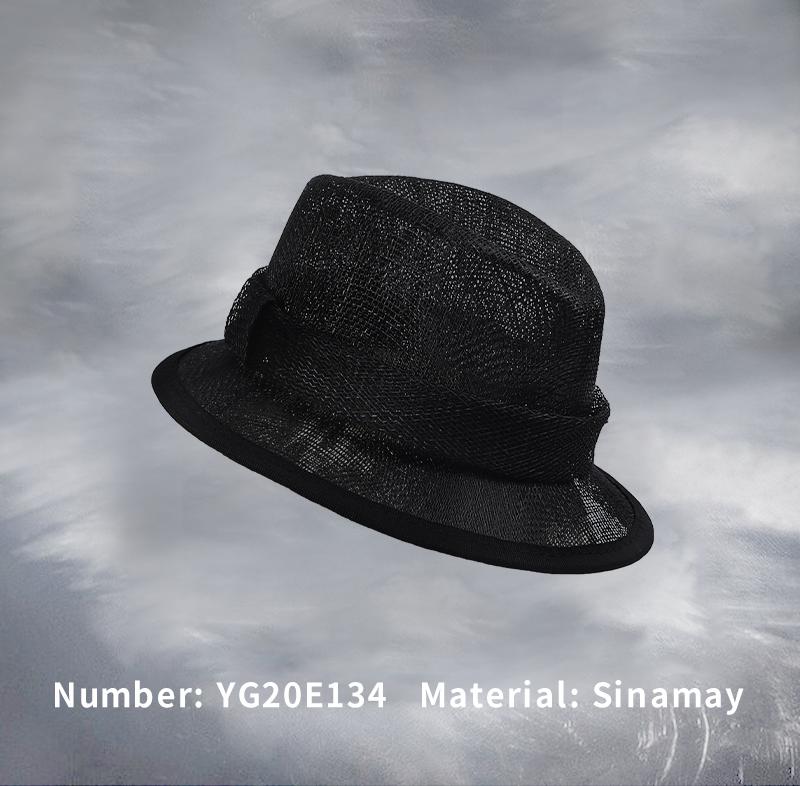 麻纱礼帽(YG20E134)