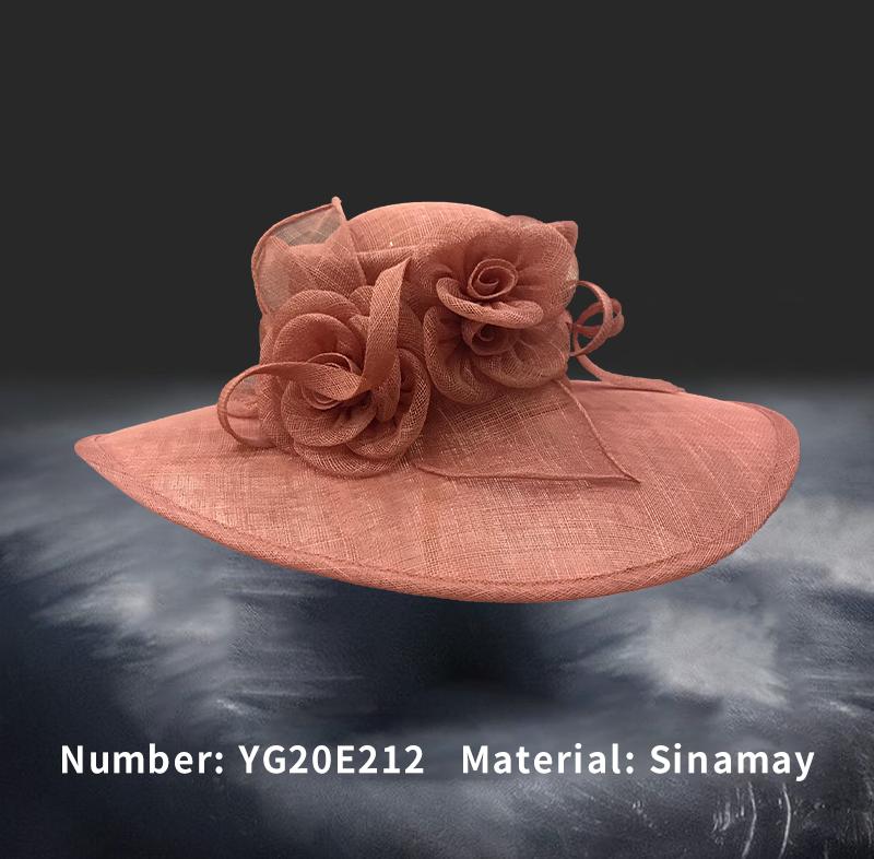 麻纱礼帽(YG20E212)